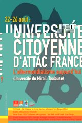 Université Citoyenne d'ATTAC France 2008